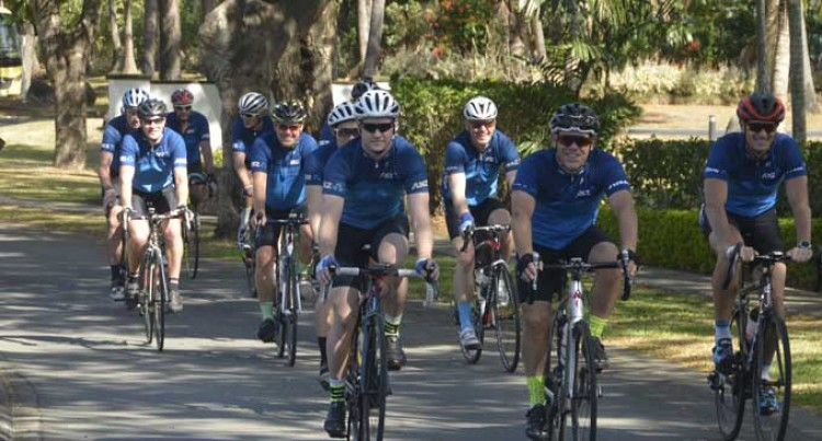 Cyclists Raise Close To $40K For Oxygen Machine