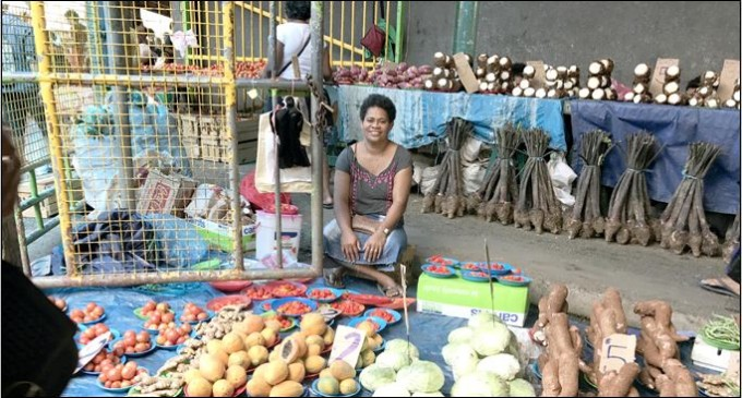 Market Business Helps Family