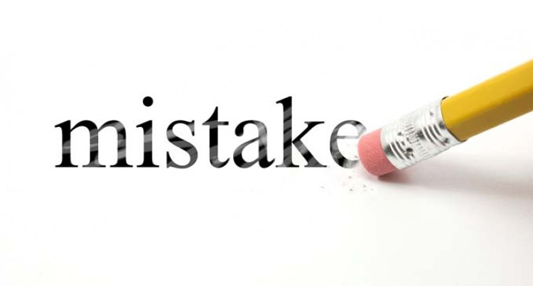 MISTAKES? take them POSITIVELY
