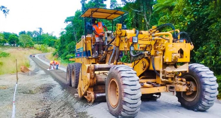 Deteriorated Nadogo Road Ripped, Re-Sealed