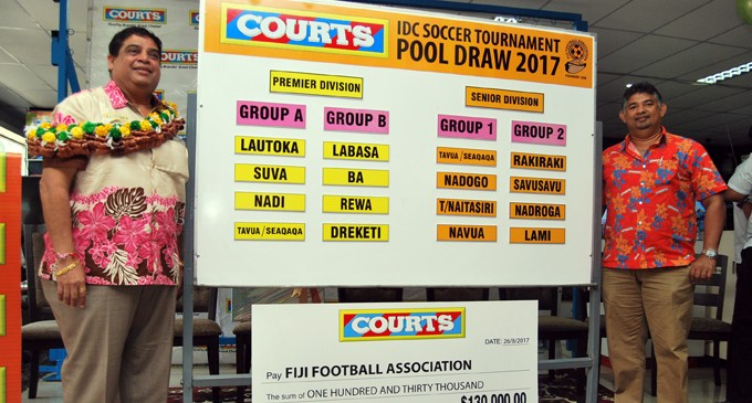 2017 Courts IDC Prize Money Ups