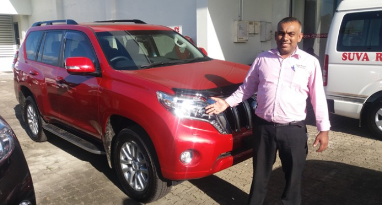 Land Cruiser Prado Fiji's Best SUV