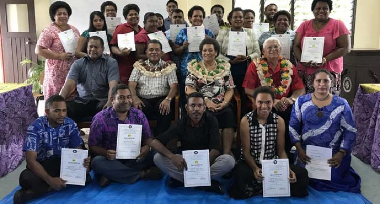 20 Teachers Get First Aid Certificates