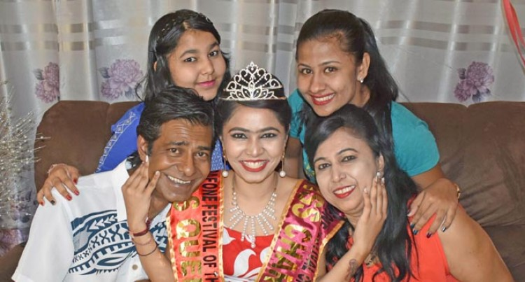 Friendly North Double Queen Now Aims For First Miss Fiji Crown For Labasa