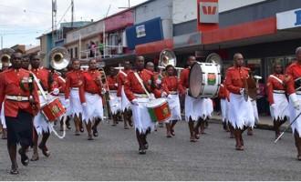 Military Band Marks 100th Birthday