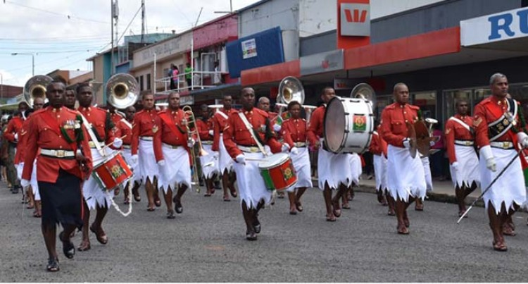 Military Band Marks 100th Birthday