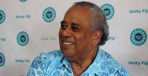 Unity Fiji party leader Savenaca Narube.