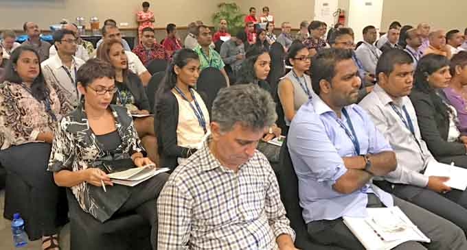 Delegates at Fiji Business Forum 2017 at Grand Pacific Hotel on August 05, 2017. Photo: Ronald Kumar