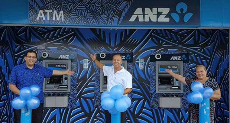 ANZ Unveils First Samoan Fashion  ATMs Downtown Apia, Featuring MENA