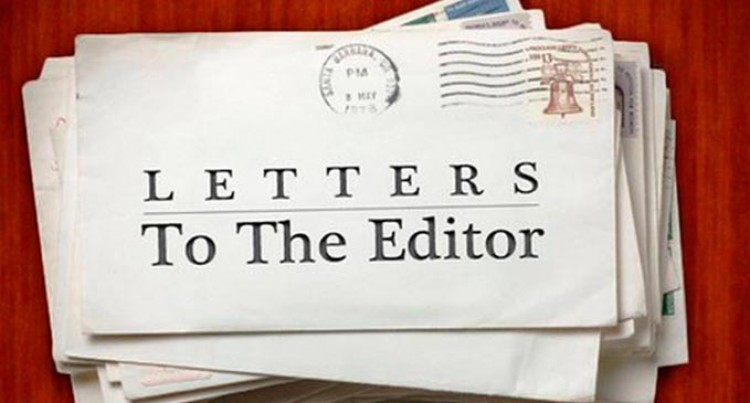 Letters to the Editor 28.8.17