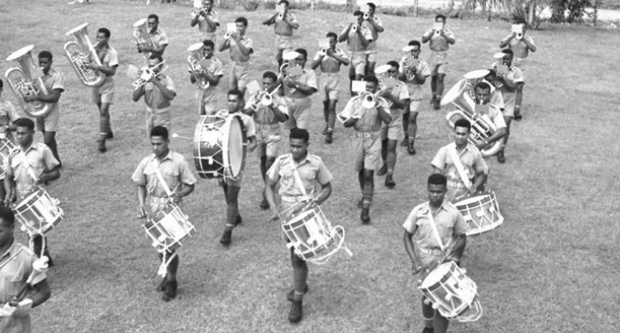 RFMF Band Goes to Lautoka for Centennial Celebrations
