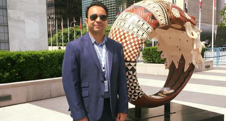 From working in a shoe shop to United Nations Headquarters