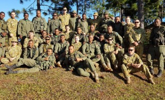 Australia, Fijian Soldiers  In Joint Training Exercise