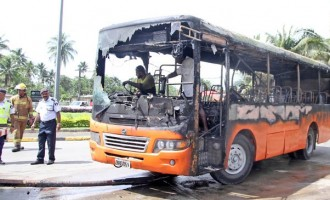 TRANSPORT : `Electrical Short Circuits Under Dashboards Cause Of Bus Fires'