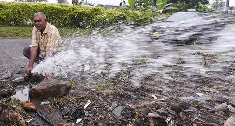 Ongoing Water Bursts Frustrate  Residents in Caubati