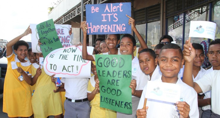 Student Proud Of Fiji Taking Part In Climate Cause