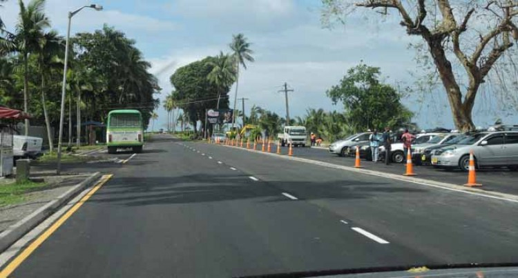 Queen Elizabeth Drive Opens To Traffic