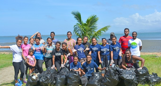 WWF Pacific, Project Survival Organise Clean Up