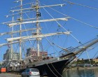 Tenacious,  Britain's Largest  Operational Wooden Ship Here