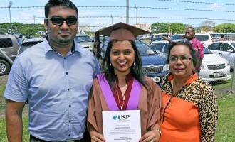 Fiji Sun Trio Shine In USP Graduation