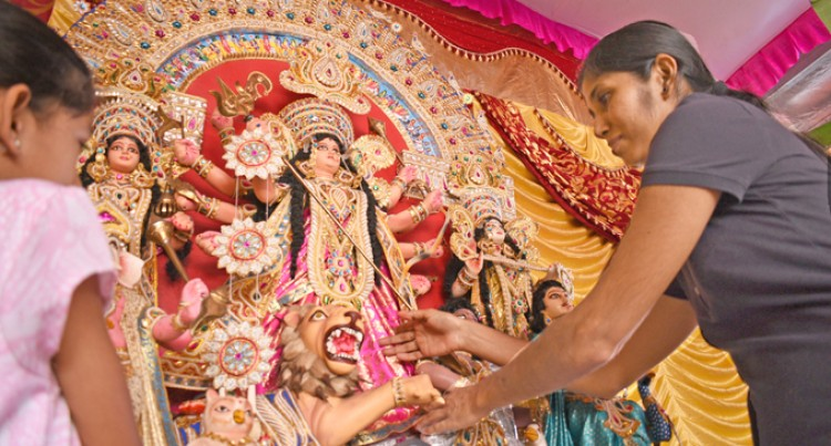 Navratri, a celebration to find inner peace and strength: Temple leader