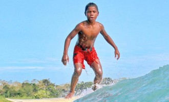 More Children Join Surfing Series