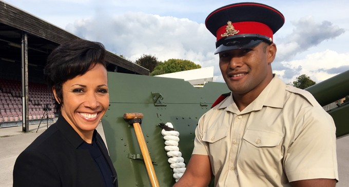 Fijian Named Best Recruit at UK Passing Out Parade