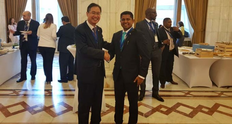 Saneem  Represents Oceania To World Election Association