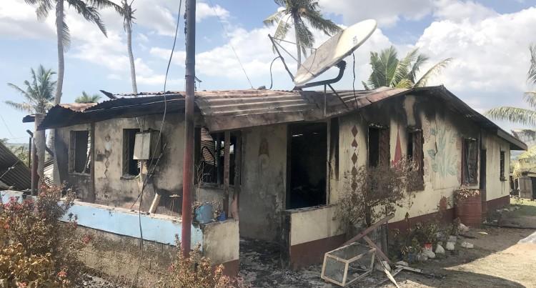 INFERNO : Rarawai Fire Razes $150,000  Home, Leaves Four Homeless