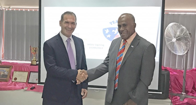 MOU With Peace Corps Highly Valued, Says Tuitubou