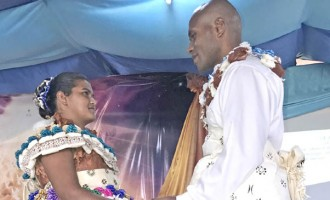 Former Street Kid Walks Down The Aisle With Her Love