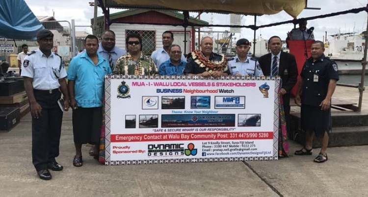 Operation To Promote Safety, Security At Port Mua-i-Walu