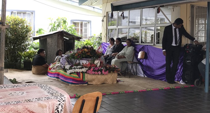 Colleagues Pay Final Respects For Dr Prasad