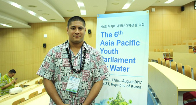 Broderick and Youth Leaders Talk Vital Issues