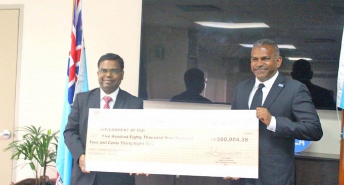 Indian Government's Continued Support For Fiji's Micro And Small Businesses