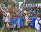 Village Visit, Children Boost Perth Spirit