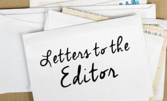 Letters To The Editor 08/05/2018