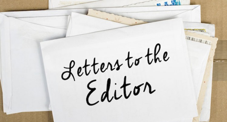 Letters to the Editor, 31st October, 2017