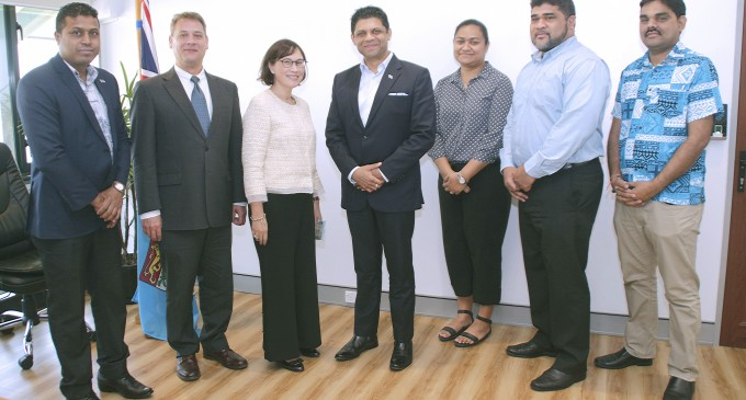 Attorney-General Meets Asian Development Bank's New Pacific Director-General