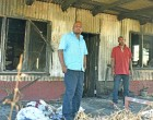 INFERNO: Morning Fire Leaves Two Bachelors Homeless
