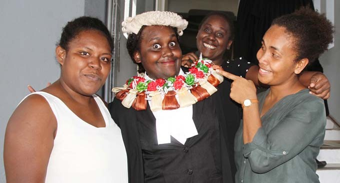 Naqu Lost For Words After Being Admitted To The Bar
