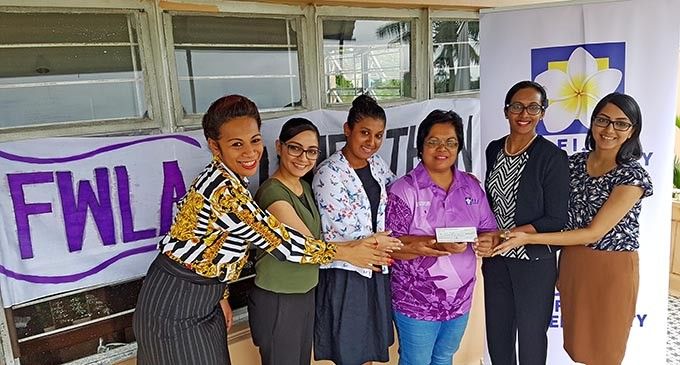 DONATION: Women Lawyers Give $6000 To Fiji Cancer Society