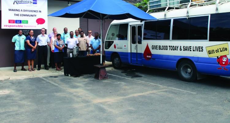 Radisson Blu Resort Launches Blood Drive