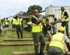 Military Engineers Work On Rotuma Hospital