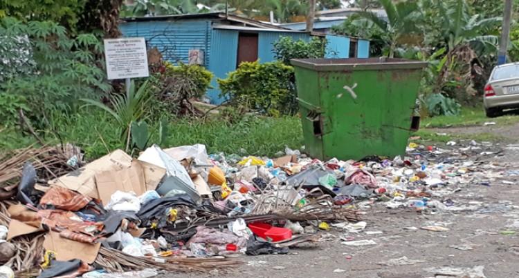 Caubati Residents Want Bigger Bins, Regular Disposal Of Rubbish