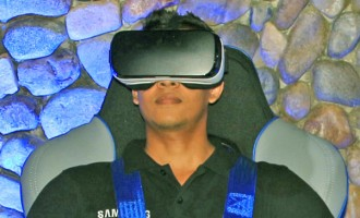 Experience the Samsung Gear VR, 4D