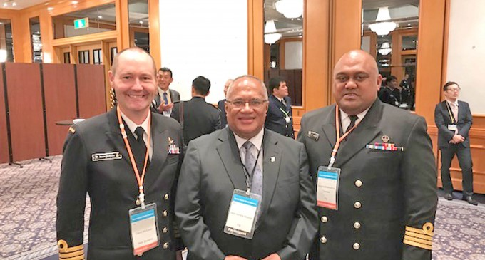Navy Commander Attends Summit in Tokyo