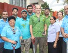 Planting Trees At  Special School To Mark  International Year Of Sustainable Tourism