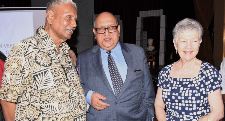 Sir Anand Launches Uni Fiji Law  Review