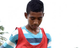 Young Vesuka Wants To Be Football Star